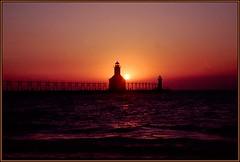 Sunset at St. Joseph, MI - 3