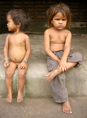 Forlorn Siblings - by Meanest Indian