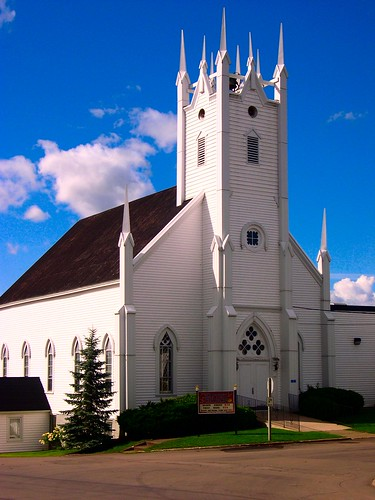 Petitcodiac Church (2) by Stephen Downes
