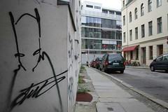 unknown (nonamenofame) Tags: street urban streetart berlin art sketch kunst urbanart unknown mitte berlinmitte strassenkunst