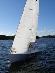 P1010089 (Papa Razzi1) Tags: sea water sailboat boats sailing sweden stockholm sail waters matchrace saltsjbaden
