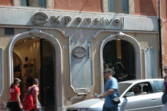 An expensive store in Rome (John Morton) Tags: italy rome translation misnamed