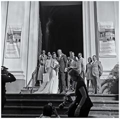 La Boda (The Wedding) (Samy Collazo) Tags: walzflex6x6tlr kominar75cmf35 kodaktrix400 boda wedding fotografo photographer sanjuan oldsanjuan viejosanjuan puertorico lightroom aviary epsonperfectionv500scanner niksilverefexpro2