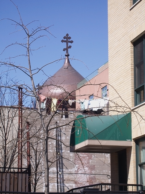 Composition with Orthodox Church