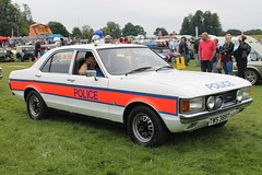 Ford Granada Police Car (R.K.C. Photography) Tags: uk england classic car policecar british 1978 stevenage hertfordshire fordgranada knebworthclassicmotorshow canoneos1100d tws389t