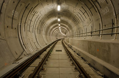 The Long Haul (Pas (sQualie)) Tags: subway concrete rail tunnel infiltration extension ue tbm 2015 uer