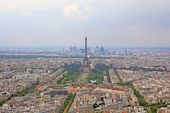 Eiffel Tower and Beyond! (96tommy) Tags: mars paris france tower de photography la photo europe tour capital transport eiffel transportation montparnasse defense champ