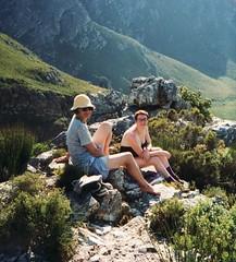 SA-02 Voelklip hill climb Kelly Fran (fjordaan) Tags: hermanus southafrica fran 1999 scanned kelly sa