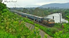 Mumbai LTT - Chennai Express (AyushKamal2014) Tags: kamshet 12764 kynwdg4 mumbailttchennaiexpress
