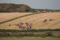 Tractor Fest (Jean I Cresol) Tags: autumn tractor countryside farmers outdoor farm country farming farmland parade september event devon tractors 12th bestinshow hartland northdevon tractorparade 2015 bradworthy