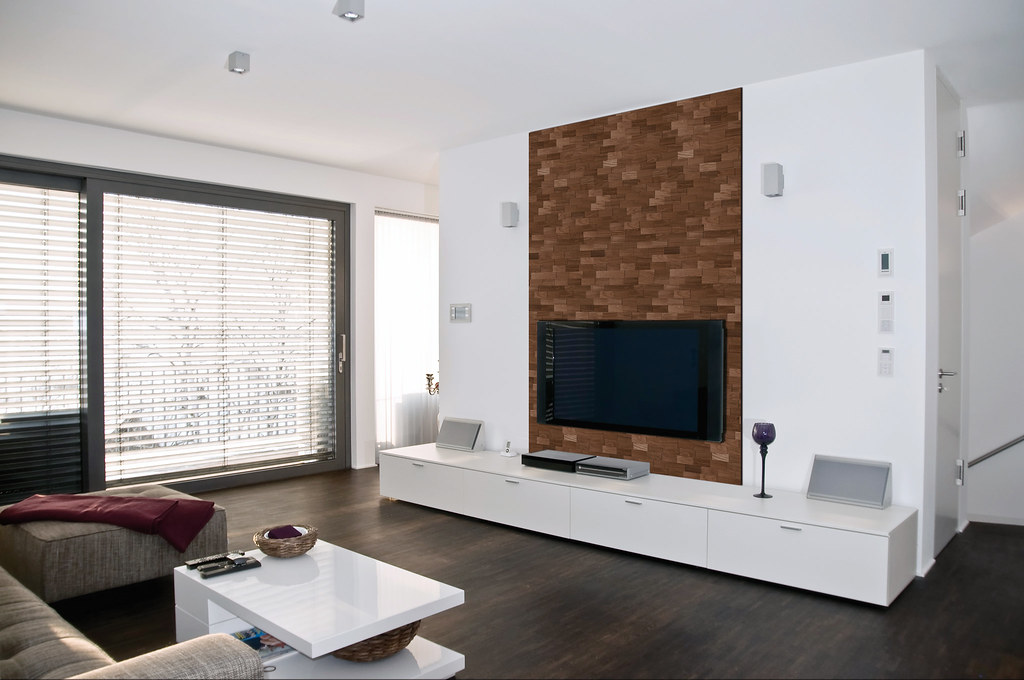 Interior Design (wodewa_wandverkleidung) Tags: Modern Loft Germany Design  Living Tv Apartment Flat Interior