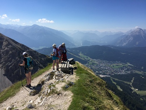 View from Seefelder spitz in Austria with Headwater Holidays