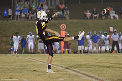 Punt (AppStateJay) Tags: school sports sport football nc high team athletics kick northcarolina iso athlete 1a punt gryphons 6400 nikond3200 2015 tamron70200mmf28 tjca tamron70200mmf28dildifmacro thomasjeffersonclassicalacademy southernpiedmontconference