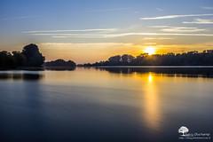 le monde est lisse (photosenvrac) Tags: pose paysage loire leverdesoleil fleuve beaugency thierryduchamp messasmoccupe