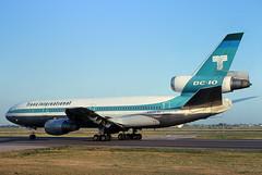N101TV Trans International DC-10-30 at KORD (GeorgeM757) Tags: airplane airport aircraft aviation chicagoohare widebody mcdonnelldouglas kord transinternational dc1030 alltypesoftransport n301fe n101tv n330au georgem757