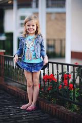 Annie (JØN) Tags: red roses cute girl nikon little 85mm annie curtsy 85mmf14g d700
