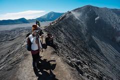 Bromo, Surabaya, Indonesia (raemysakai77) Tags: travel people mountain indonesia landscape volcano java sony backpacking surabaya bromo traveler backpackers mountainscape mountbromo eastjava sonyalpha bromocrater sonymalaysia sonya7 raemysakai