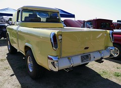 1957 Chevy Cameo 4X4 (bballchico) Tags: 1957 chevrolet cameo pickuptruck 4x4 scotttownson arlingtondragstripreunionandcarshow arlingtoncarshow 206 washingtonstate arlingtonwashington