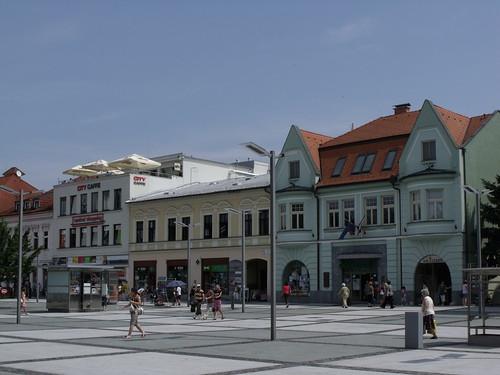 SNP Square, Zvolen, Slovakia