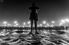 DSC_0824-copy (itzik.greenstein) Tags: shadow abstract festival reflections religious outdoor culture hinduism powerful chill rasta naga ceremonies ganges sadu kumbamela ndia alhbd