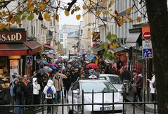 I hope that people are on the streets of Paris today. (Lazenby43) Tags: street paris montmartre