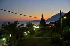 panorama Samos (soir) (Fif') Tags: sea mer island see seaside mediterranean aegean greece more balkans griechenland grce balkan le mditerrane 2015 ormos balos ge koumeika koumeikon