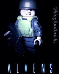 Aliens Colonial Marine (Cinema Bricks) Tags: lego alien aliens colonialmarines colonialmarine brickarms alienscolonialmarines legomovieposter citizenbrick gibrick
