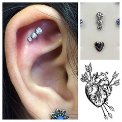 Flat Piercing by Taylor Bell