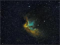 NGC7380_DBE_3x3x600s_PS_NI70pc-k (Rolembeek) Tags: astro nebula astrophoto nebulae deepsky narrowband hubblepalette hstpalette astropfotography