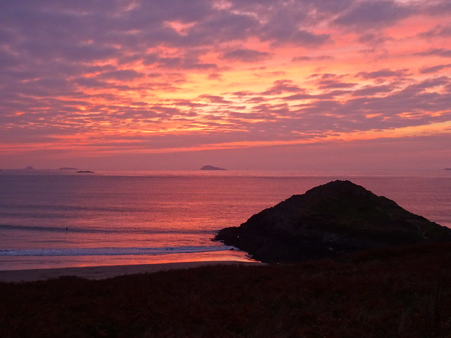 Sunset at St Davids