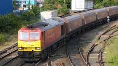 DBS 60054 - 6F84 (Brandon-Jones) Tags: railway dbs ews diesellocomotive coaltrain dieseltrain ukrailway 60054 dbschenker arpleyjunction dbsclass60 6f84 dbs60054 arpleyjn 6f84liverpoolbulkterminalfiddlersferrypowerstation