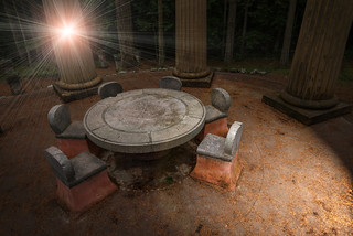Afterglow Vista, John S. McMillin Memorial Mausoleum, Roche Harbor