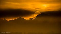Lever de Soleil panoramique sur les Alpes  (in explore) (Pyc Assaut) Tags: les montagne alpes de soleil sur lever panoramique pyc5pyc pyc5pycphotography pycpyc