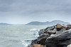 Harsh Weather (johanbe) Tags: ocean sea storm rain grey rocks cloudy wave windy splash regn hav vågor mulet kungälv klippor grått tjuvkil harshweather hårtväder