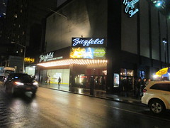 Star Wars The Force Awakens Ziegfeld Theater 4941 (Brechtbug) Tags: above street new york city nyc light film wet rain wall movie poster lite marquee star 3d opera theater force space entrance 7 billboard adventure sidewalk cast seven darth r2d2 future saber lightsaber wars vader 7th mythology android futuristic droid 6th c3po between myths ziegfeld avenues droids the 54th sized threepio awakens