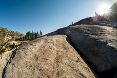 Looking back towards Devil's Postpile (speedcenter2001) Tags: wilderness anseladamswilderness california sierranevada sierra sierraphile highsierra mountains outdoor hiking backpacking backcountry nikon16mmf35ai fisheye