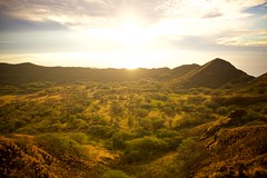 Daybreak (cookedphotos) Tags: canon 5dmarkii travel hawaii oahu honolulu diamondhead diamondheadcrater hike hiking crater morning sunrise dawn sunlight