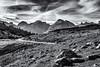Step by Step... (Ody on the mount) Tags: anlässe berge dolomiten fototour italien südtirol urlaub wege wolken bw monochrome sw