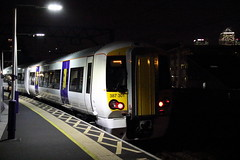 387301 Limehouse, London (Paul Emma) Tags: uk england london railway railroad limehouse electrictrain train 387301