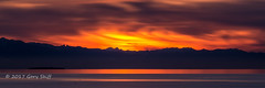 Olympic Sunset (Gary Skiff) Tags: sunset olympics west beach clouds