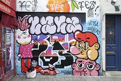 Kitsa - Lalasaidko (Ruepestre) Tags: kitsa lalasaidko lala said ko paris france streetart street art graffiti graffitis urbain urbanexploration urban