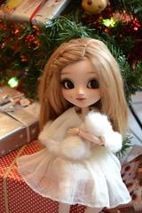 Luciole vous souhaite un très joyeux noël! (~Louna~) Tags: pullip fc ayaume aya ume fullcusto full custo custom obitsu wig christmas noel noël