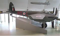 De Havilland Mosquito B.35 TA639 at RAF Museum, Hendon 01.11.16 (Trevor Bruford) Tags: raf museum hendon london de havilland mosquito b35 ta639 warbird aviation plane aircraft military milestones flight wwii royal air force