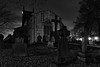 img_2109 (Yorkshire Pics) Tags: church swillington leeds night nightphotography nightscene graveyard churchyard east lee 1501 15012017 january blackwhite blackandwhite hdr