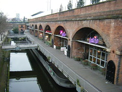 Manchester - Deansgate Locks (rossendale2016) Tags: manchester city centre deansgate locks clubs houses entertainment beer wines spirits railway canal water public comedy