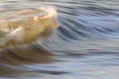 Wave Art #279 (haddartist) Tags: waveart series artsy artistic ocean oceanside oceanfront coast coastal surf wave swell break breaking shorebreak beachbreak lip spray glassy tube barrel smooth reflection lines morning light backlight highlights translucent color colorful blur slowshutter speedblur longexposure virginiabeach virginia