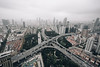 x marks the spot. (Javin Lau) Tags: green rooftopping urbex shanghai peoples republic china highway cityscape day travel sony a7sii 1018mm skyline urban city exploring