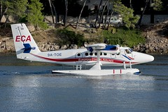 9A-TOE (Wezgulf3) Tags: dhc6 twinotter 9atoe europeancoastalairlines split croatia harbour