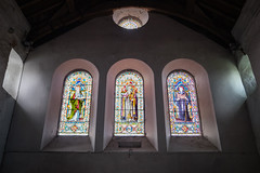 Stained Glass Windows (Howie Mudge LRPS) Tags: stainedglass window windows wall light mood church religious religion gwynedd wales cymru uk fuji fujifilm xt1 fujifilmxt1 fujixt1 samyang mirrorlesscamera compactsystemcamera stilllife atmosphere