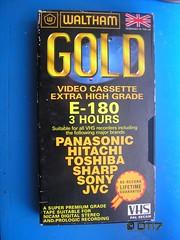 Waltham - Blank Tape (daleteague17) Tags: blank vhs tapes blankvhstapes pal palvhs videotape blankvideotape waltham